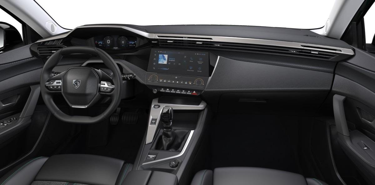 Peugeot 308 Active Pack 2021 wnętrze