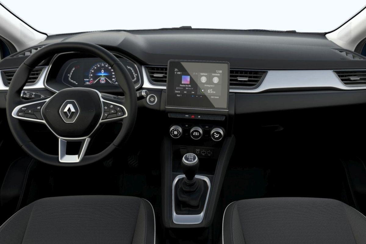 Renault Captur Intens - wnętrze