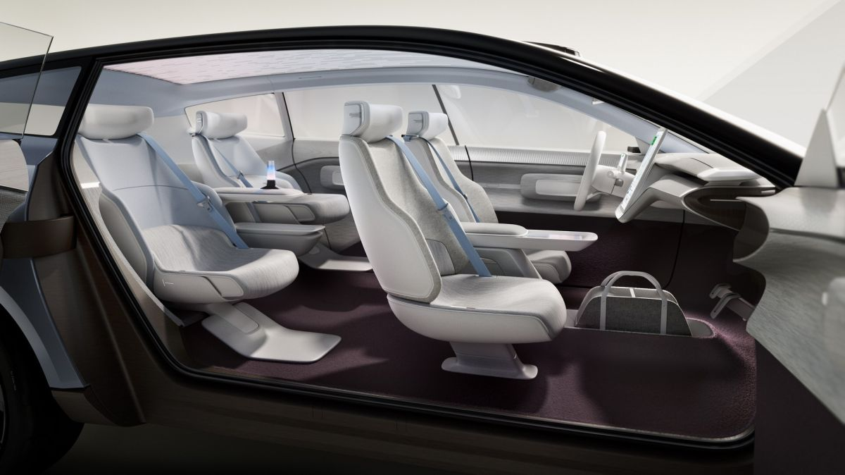 Volvo Recharge Concept wnętrze