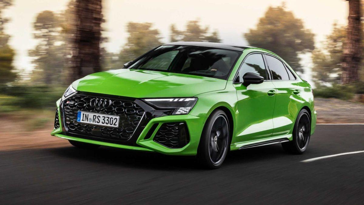 Audi RS3 2022 design