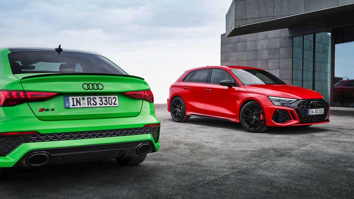 Audi RS3 2022 - dane techniczne