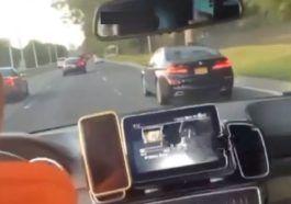 Kierowca BMW doprowadził do zderzenia i dachowania własnego auta