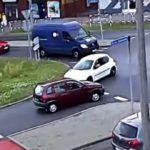 Na rondzie w lewo - Ruda Śląska, rondo Wirek