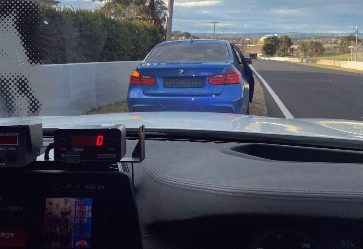 Cwaniak w BMW otrzymał surową karę za przekroczenie prędkości