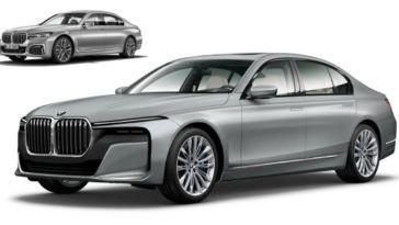 BMW serii 7 2022 - niezależna grafika