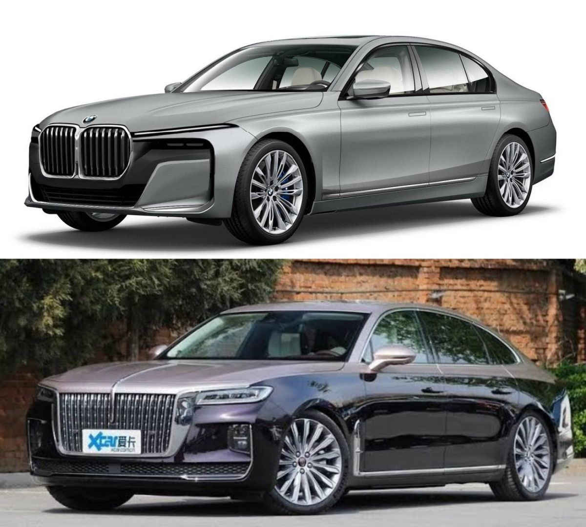 BMW series 7 project like chinese car