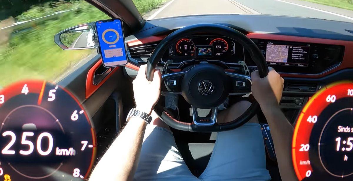Volkswagen Polo GTI 300 KM przyspieszenie