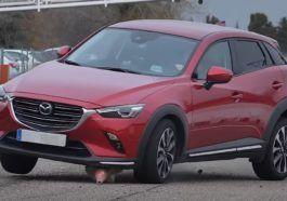 Mazda CX-3 - test łosia