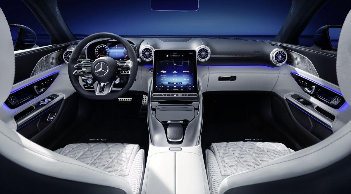 Mercedes-AMG SL 2022 - wnętrze