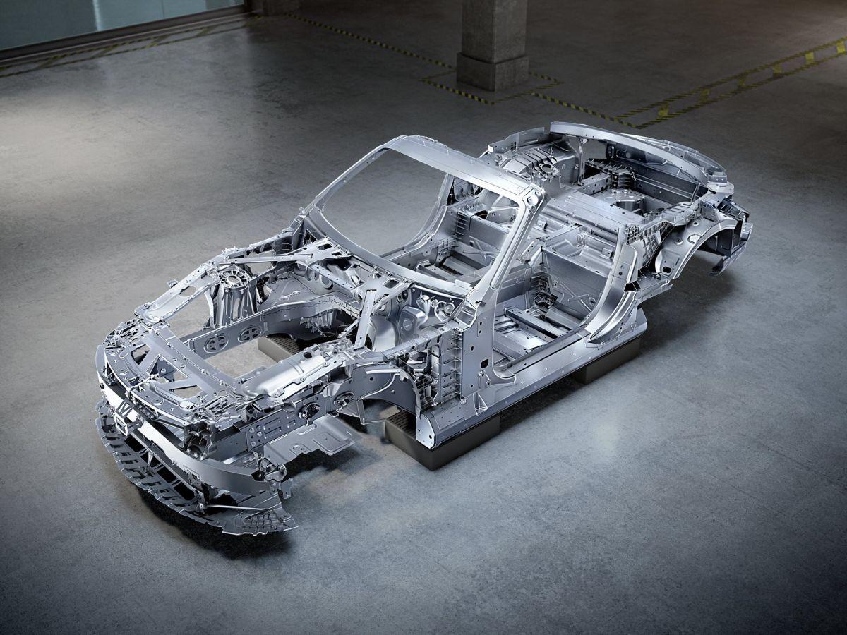 Mercedes-AMG SL 2022 konstrukcja