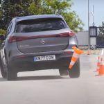 Mercedes EQA moose test