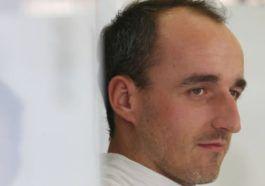 Kubica podczas treningu Grand Prix Węgier 2021