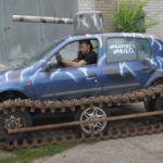 Renault Clio tank