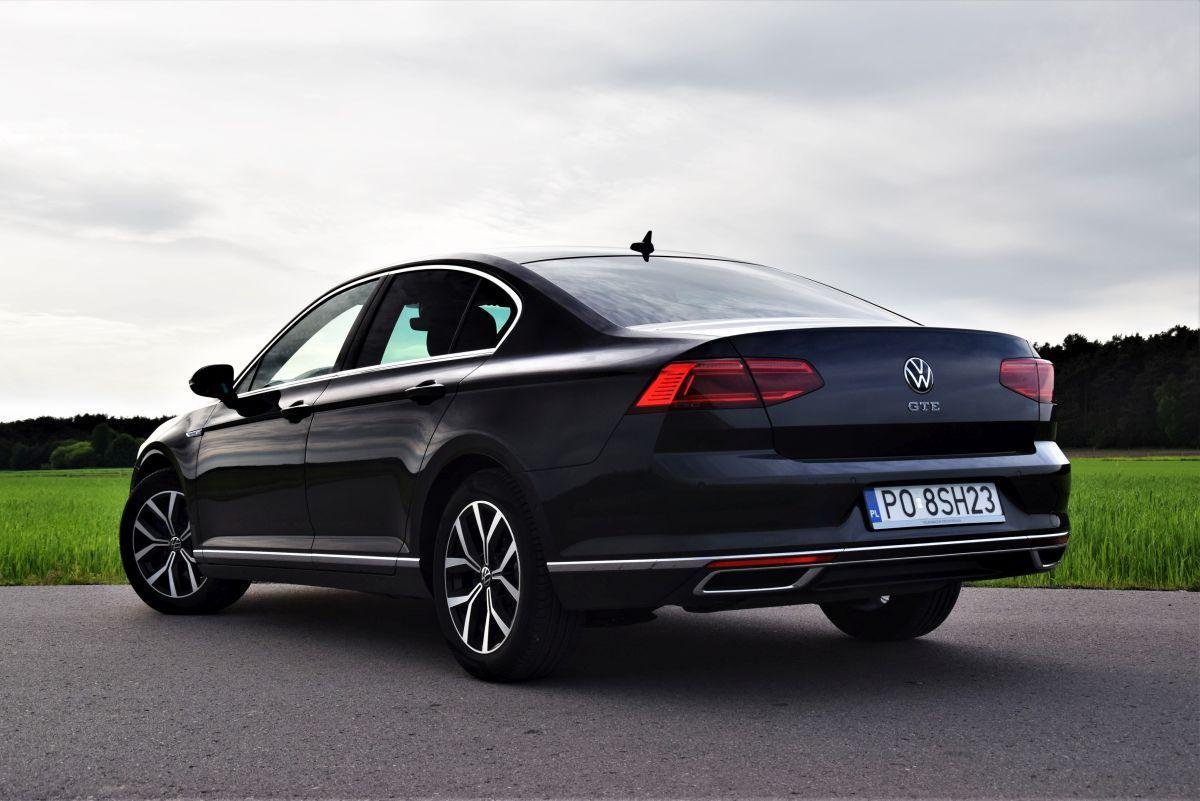 VW Passat GTE - design