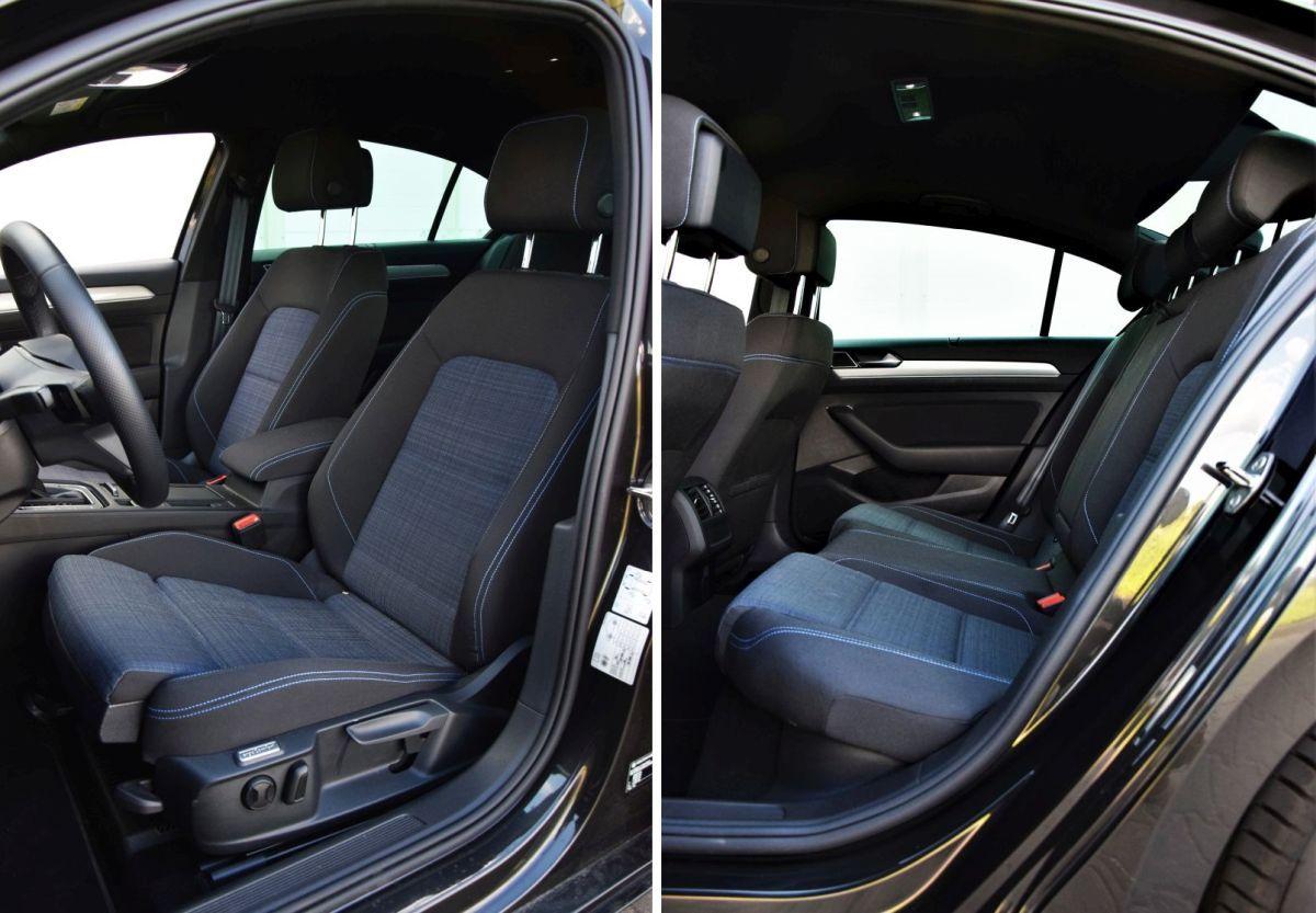 VW Passat GTE - kabina