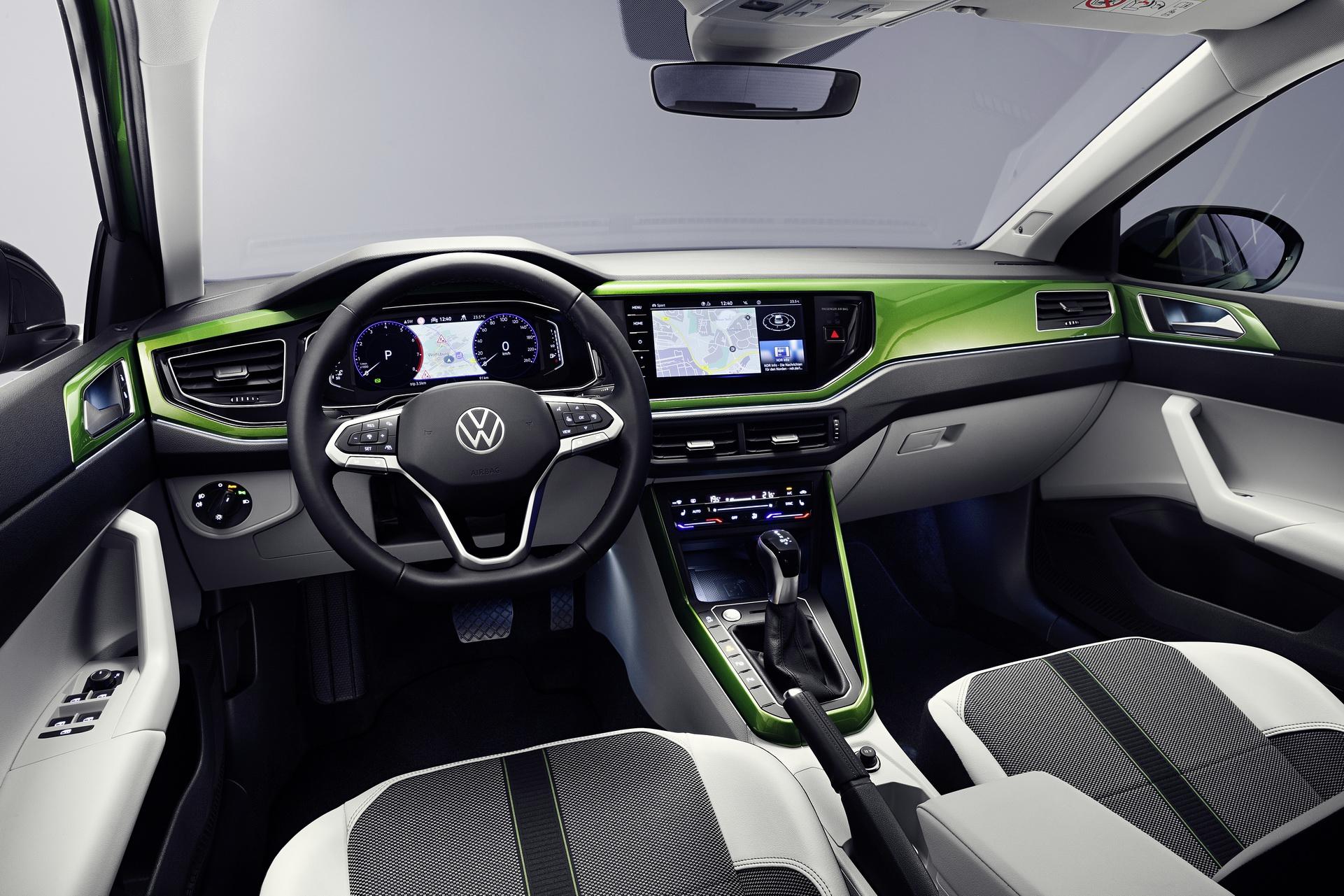 Volkswagen Taigo - wnętrze
