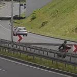 DTŚ Zakręt Mistrzów wypadek motocyklisty