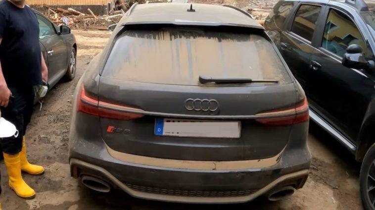 Audi RS6 - pomoc dla powodzian w Niemczech