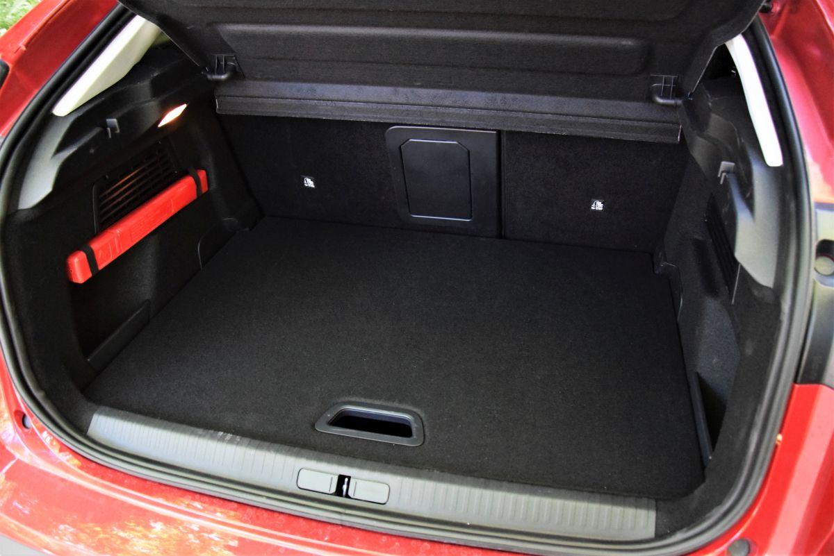 Nowy Citroen C4 - pojemność bagażnika