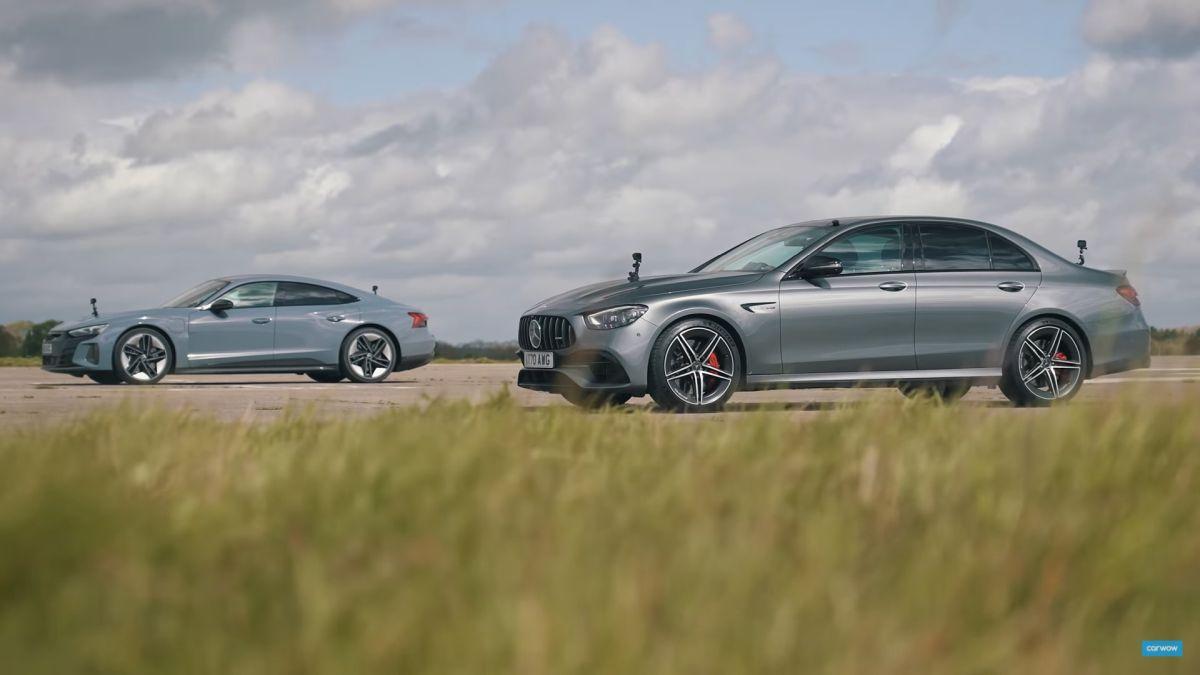 Audi e-tron GT vs Mercedes-AMG E 63 S