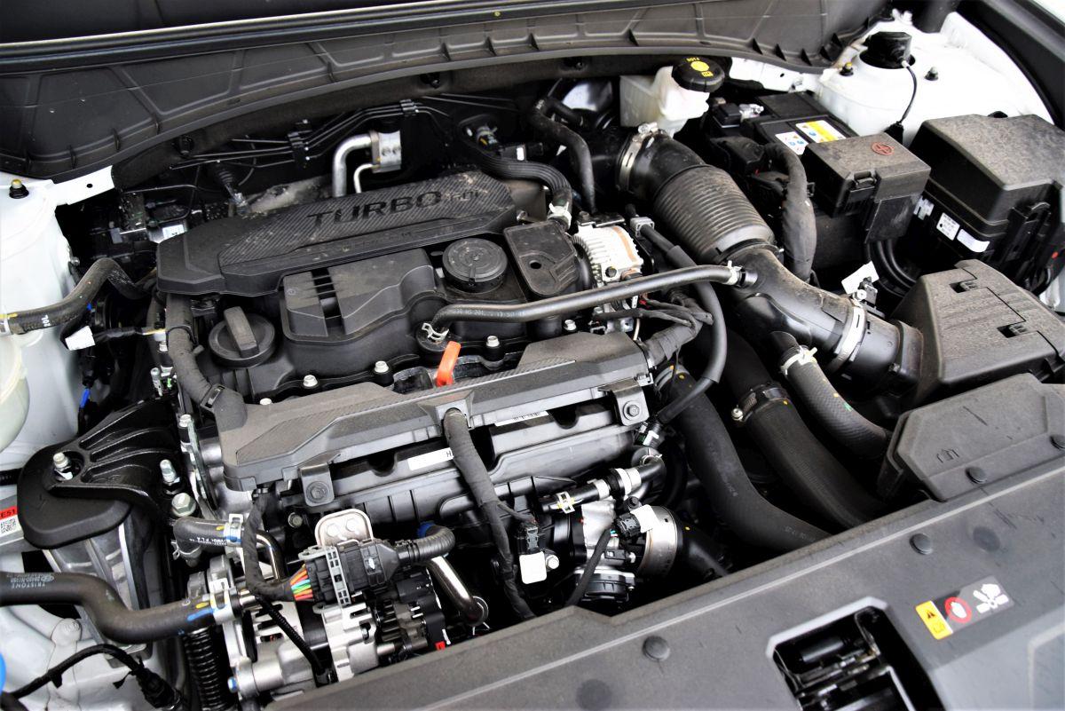 Hyundai Tucson N Line - silnik