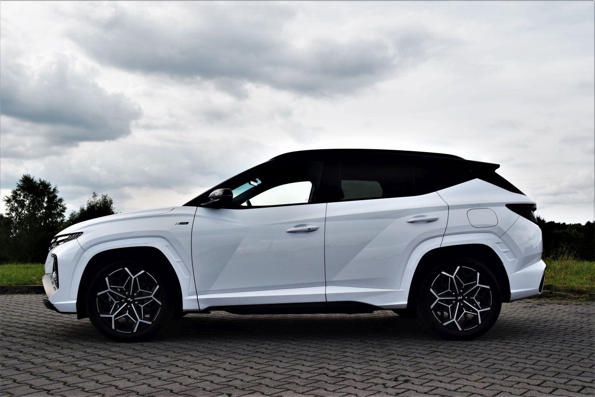 Hyundai Tucson - profil