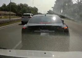 Agresywny kierowca Maserati