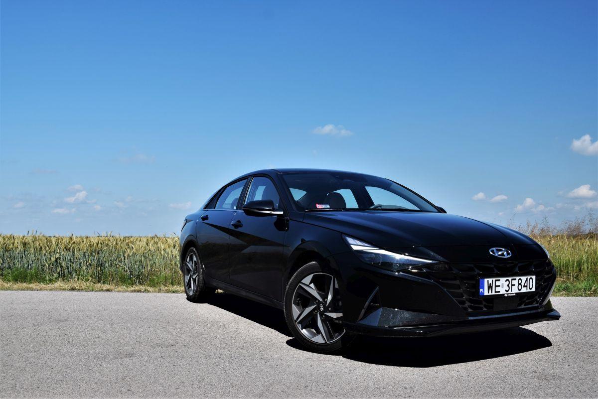Hyundai Elantra 2021 - wrażenia zjazdy