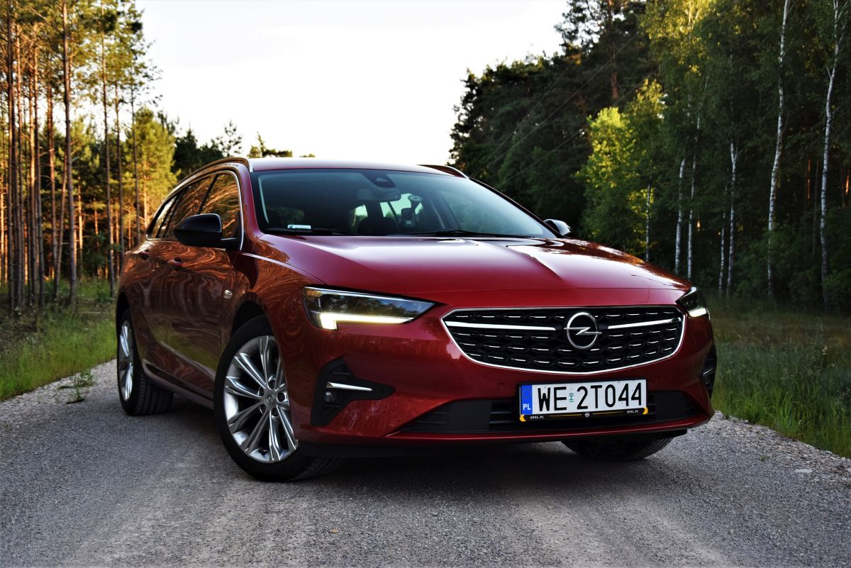 Opel Insignia Sports Tourer test