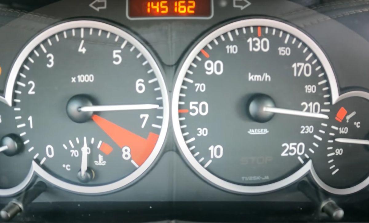 Peugeot 206 RC - osiągi