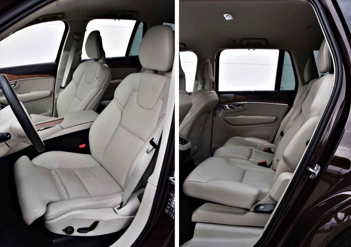 Volvo XC90 - wnętrze