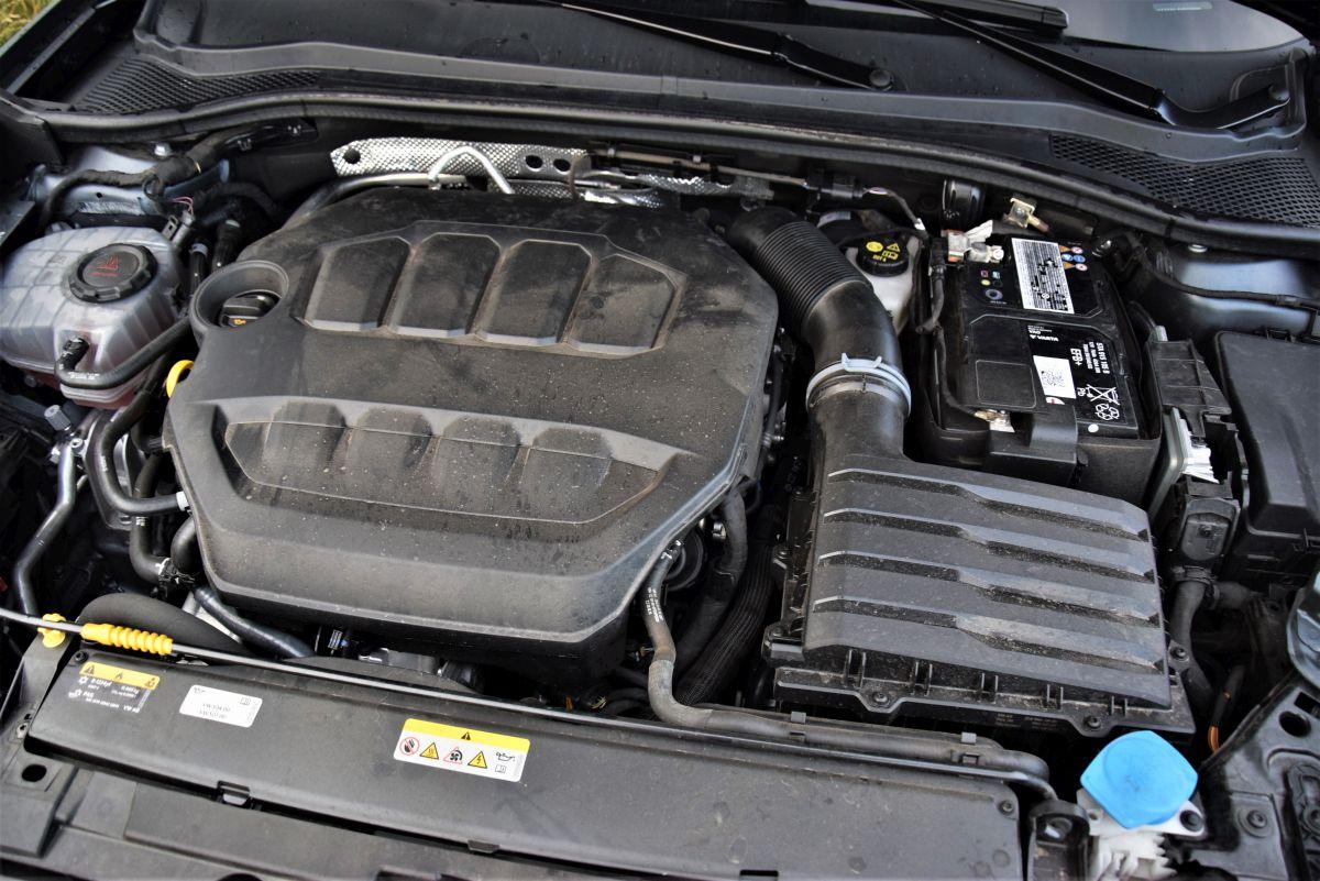 CUPRA Leon 2.0 TSI - silnik