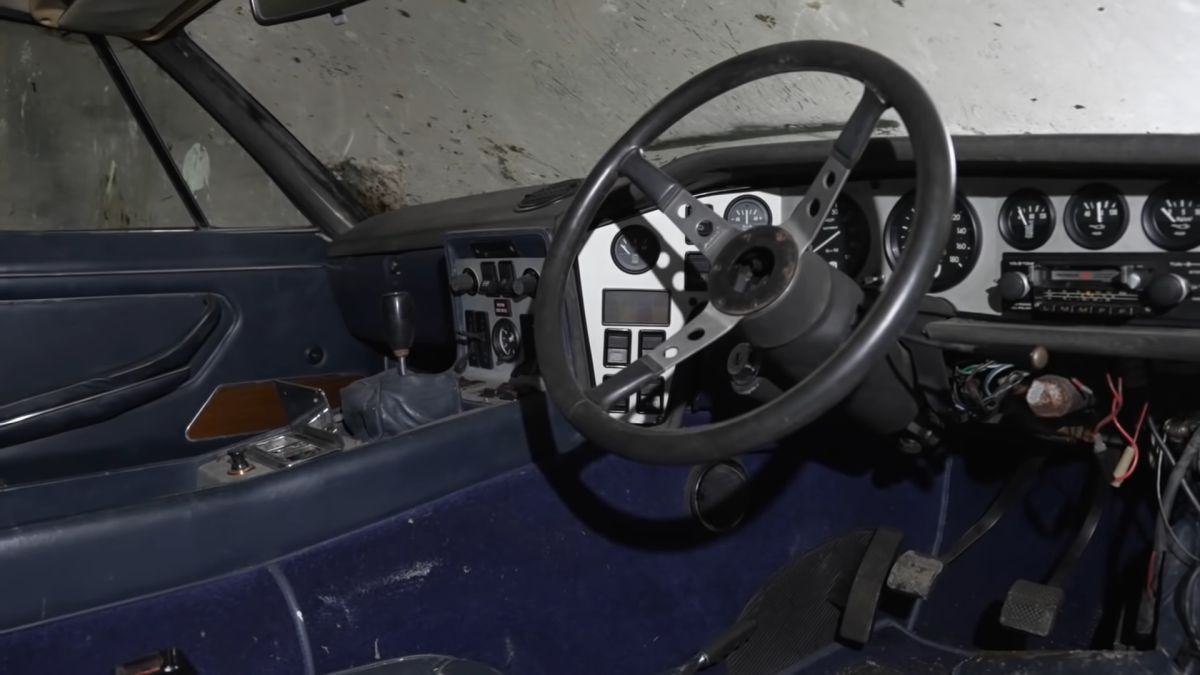 Lamborghini Espada - wnętrze