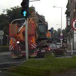 Kolizja naczepy z autem osobowym w Bielsku-Białej