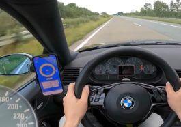 BMW M3 E46 prędkość maksymalna