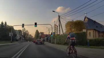 Rowerzysta kontra kierowca