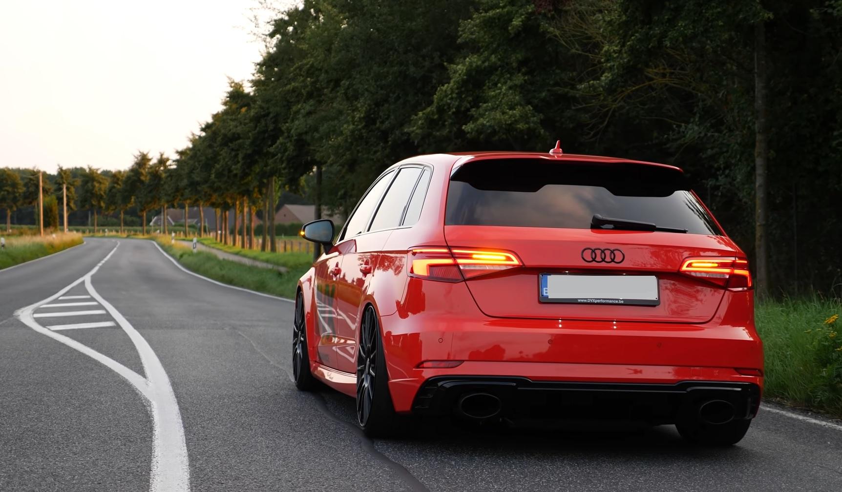 Audi RS3 666 KM - przyspieszenie