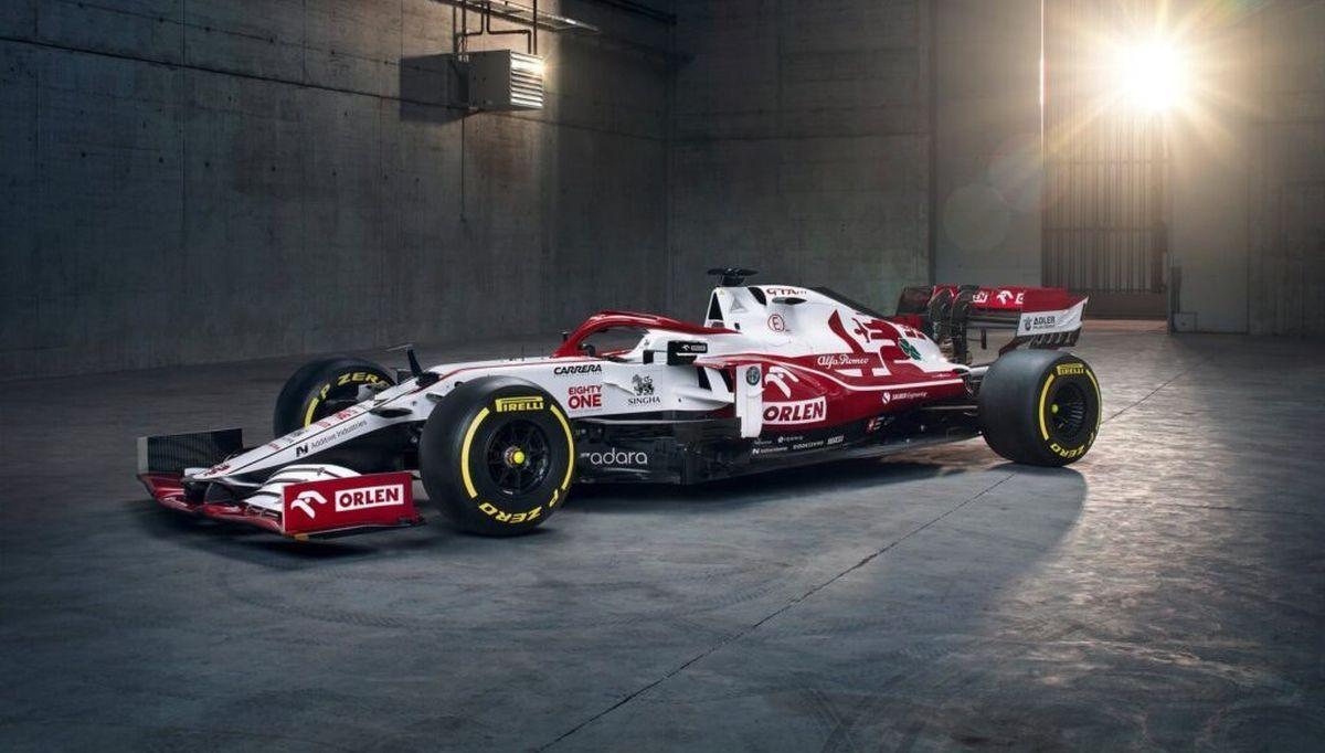 Alfa Romeo Racing Orlen - drugi fotel 2022