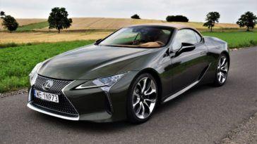Lexus LC 500 CV test