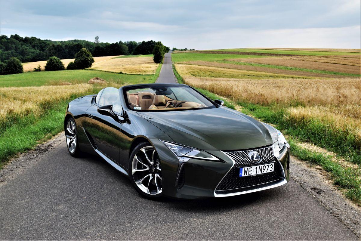 Lexus LC 500 CV - design