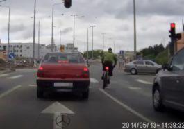 Nierozsądni rowerzyści
