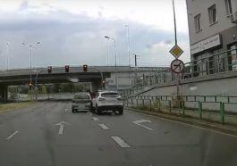 Otarcie przed skrzyżowaniem