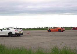 Porsche 911 Turbo S vs Nissan GT-R Nismo vs Honda NSX