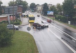 Wymuszenie na skrzyżowaniu w Rudzie Śląskiej