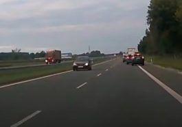 Jazda po prąd drogą ekspresową, 19.09.2021