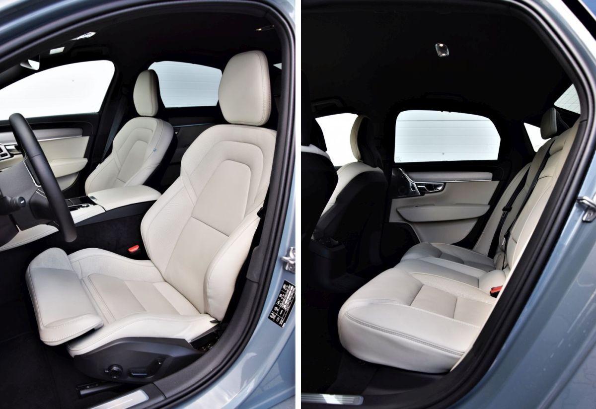 Volvo S90 T8 eAWD - kabina