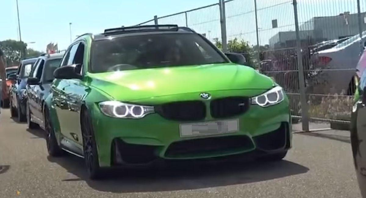 BMW M3 Touring zbudowane z kradzionych części