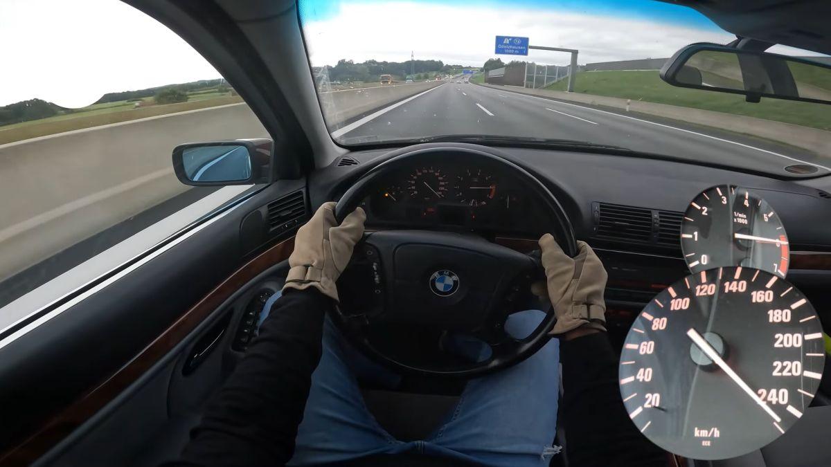 BMW 535i V8 E39 autobahn