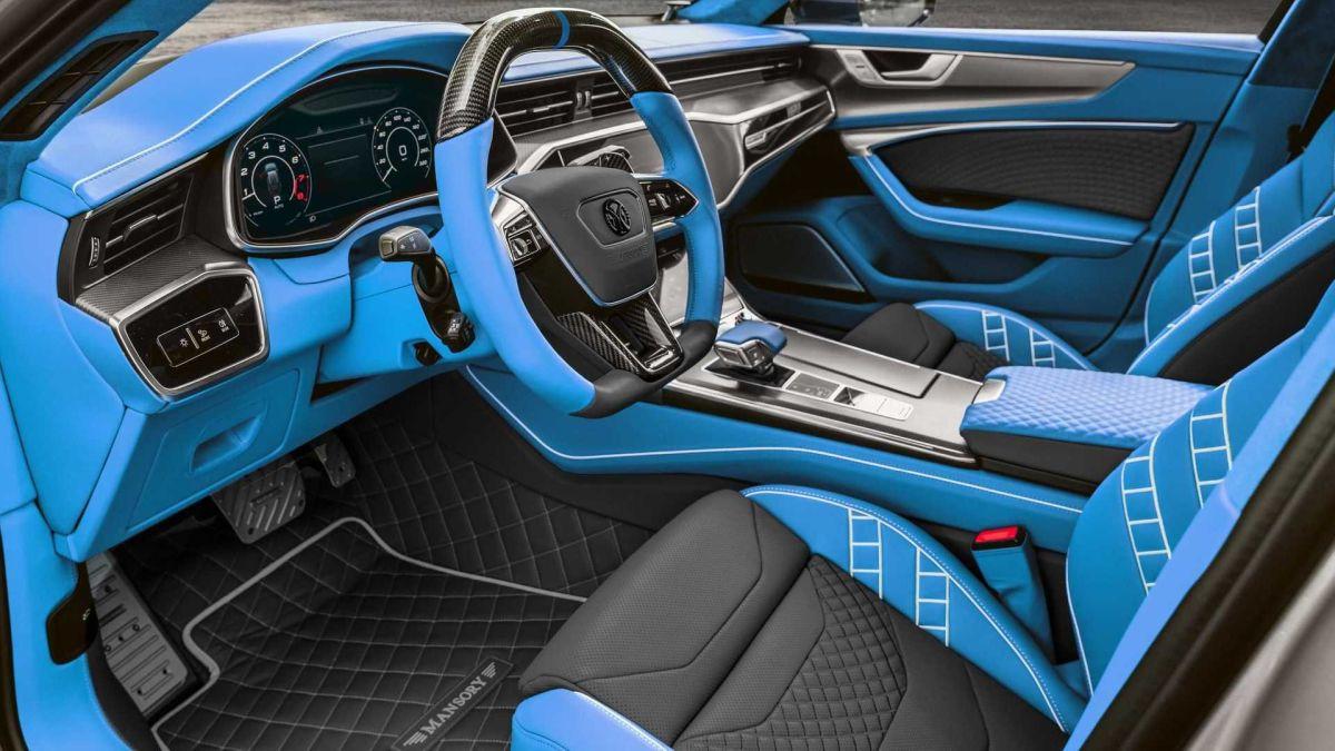 Audi RS7 Sportback Mansory - interior