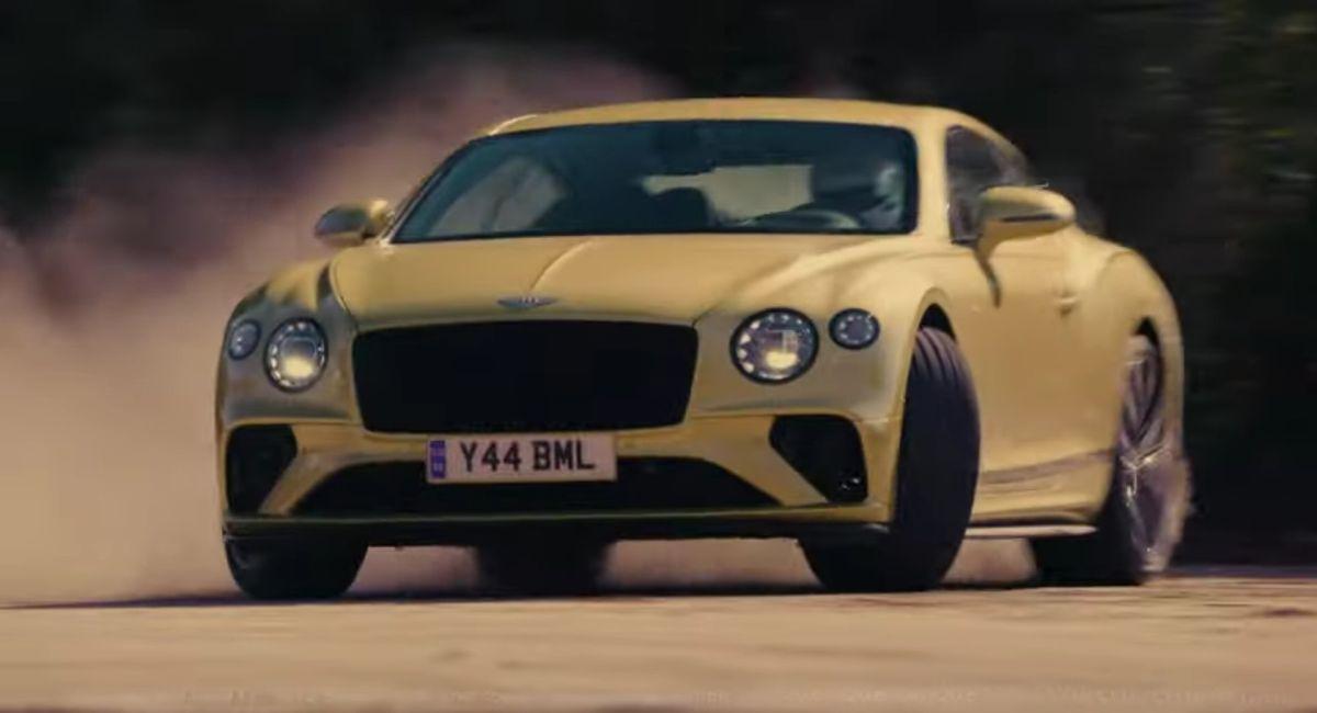 Bentley Continental GT Speed reklama